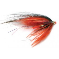 Moscas Guideline Salar Salmón Tubeflies Express G-36 MF Orange Express