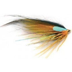 Moscas Guideline Salar Salmón Tubeflies Express G-37 MF Yellow Express