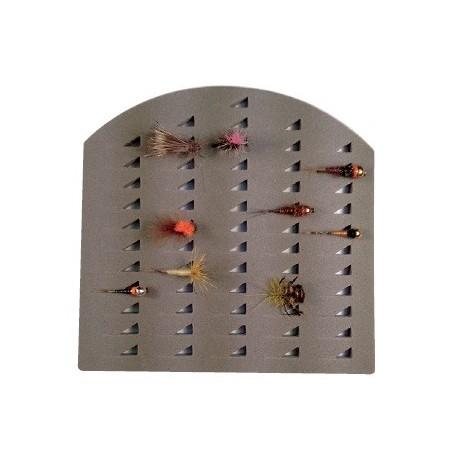 Sujeta moscas de foam Castor