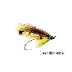 Moscas Castor F-115 para Salmón Green Highlander