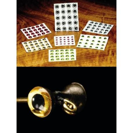 Ojos Adhesivos 3D ( Holográficos )
