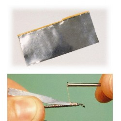 Láminas de plomo adhesivo
