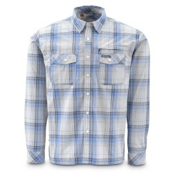 Camisa Simms Kenai Wave Plaid T/L