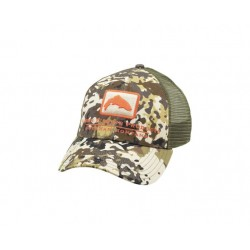Visera Simms Trout Icon River Camo