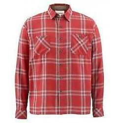 Camisa Simms Blacks ford Flannel Ruby Plaid