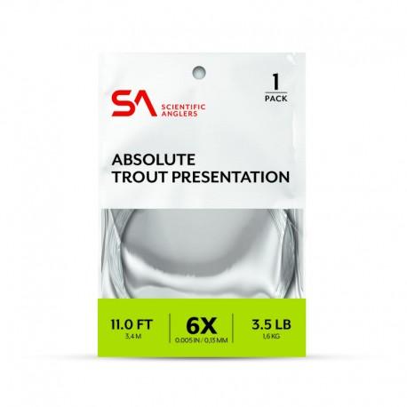 Bajos de linea 3M Absolute Trout